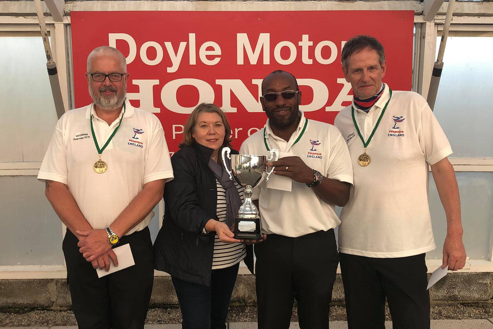 Vets Winners Guernsey 2019