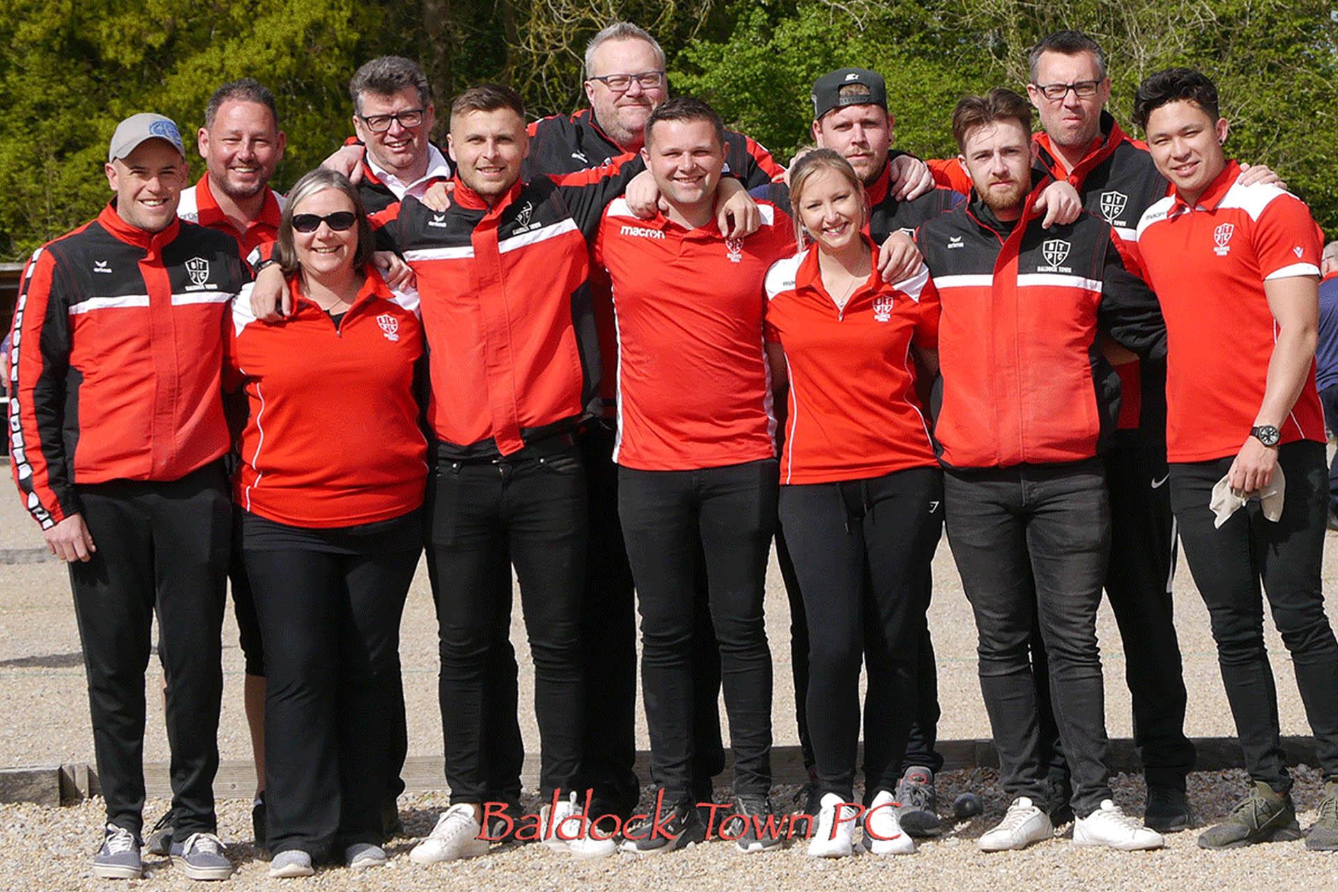 Baldock Town team 2019