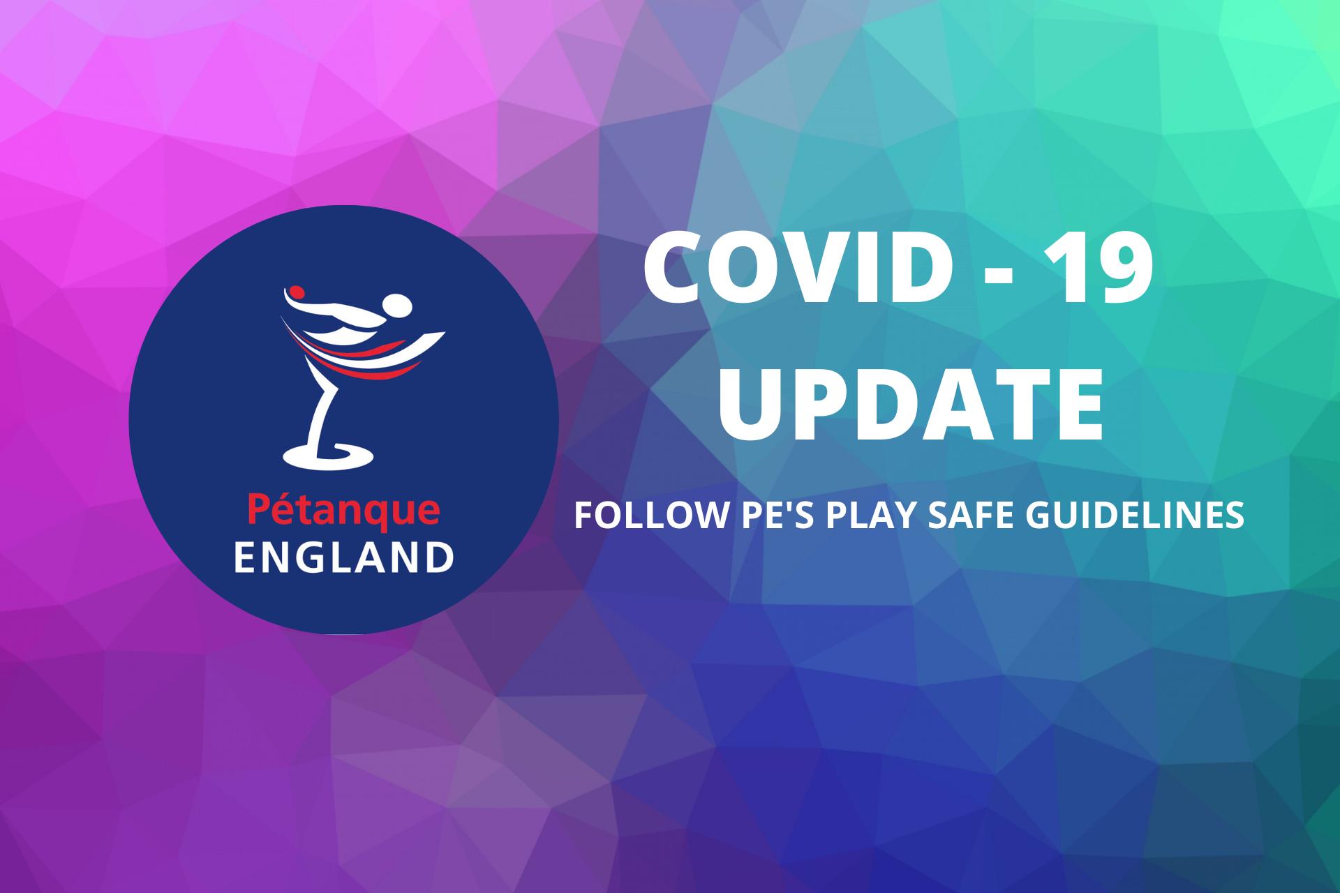 COVID - 19 UPDATE