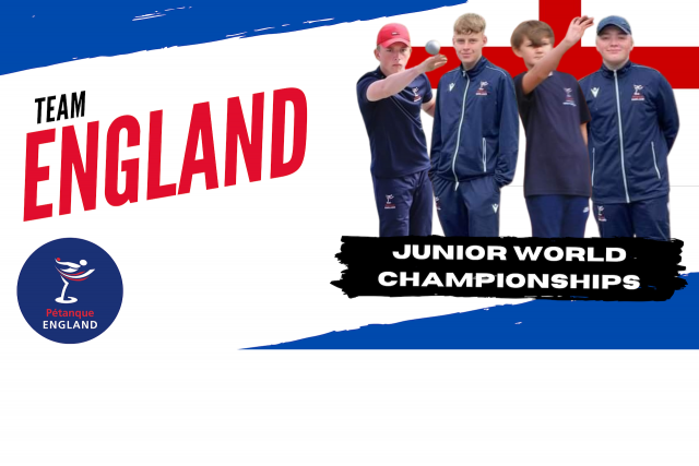 World Championships – England Junior Team